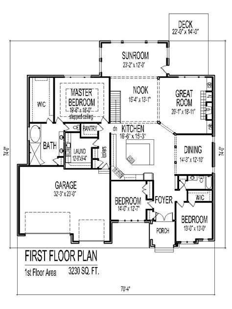 Tuscan House Floor Plans Single Story 3 Bedroom 2 Bath 2 House Plans 3 Bedroom 2 Bath Car Garage