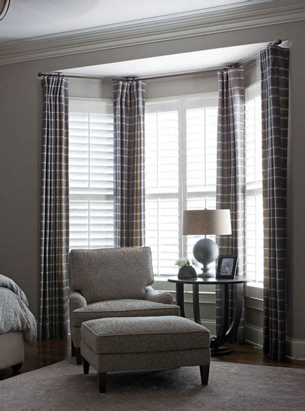 bedroom bay window curtains beth haley ribbit pinterest