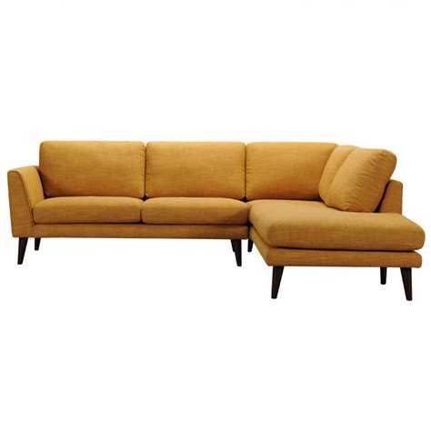 sectional sofa pieces 2 piece drew modern gold fabric sectional