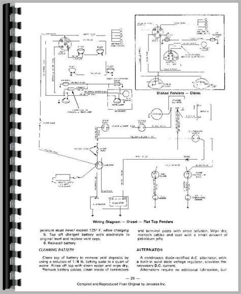 massey ferguson 135 wiring diagram alternator