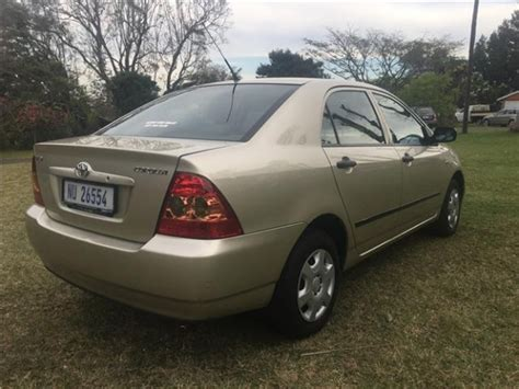 Toyota Corolla 2005 For Sale Archive 2005 Toyota Corolla 140i For Sale Krugersdorp