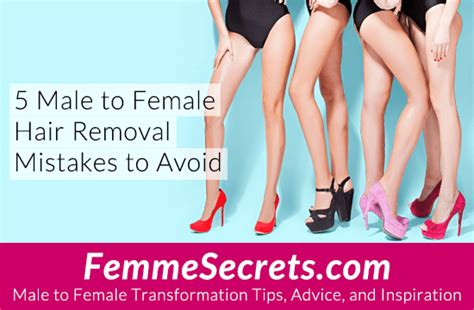 sissy pubic area grooming pictures 5 male to female hair removal mistakes to avoid