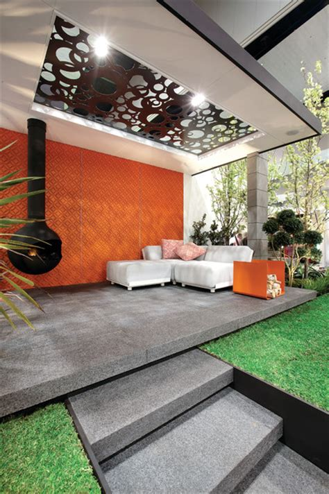 Patio Designs Melbourne Grand Designs Melbourne Midcentury Patio Melbourne By Atkinson Pontifex