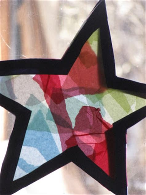 How To Make Paper Glass - chubbas n boop tissue paper stained glass
