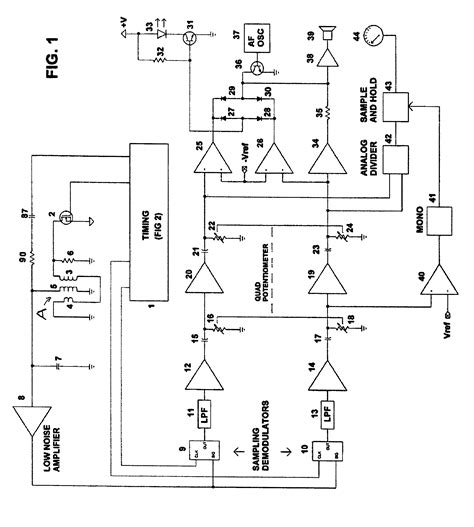 bfo metal detector circuit diagram bfo metal detector no2 schematic wiring diagram components