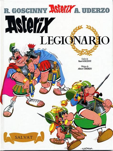 libro asterix in spanish el ast 233 rix legionario xonxoworld