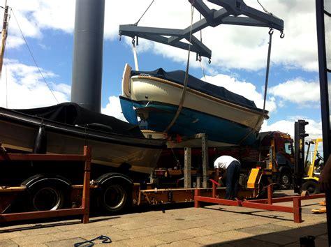 zeiljacht transport jachtwerf jachthaven van wijk woubrugge