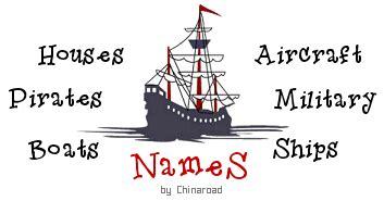 boat names generator pirate pirate nicknames