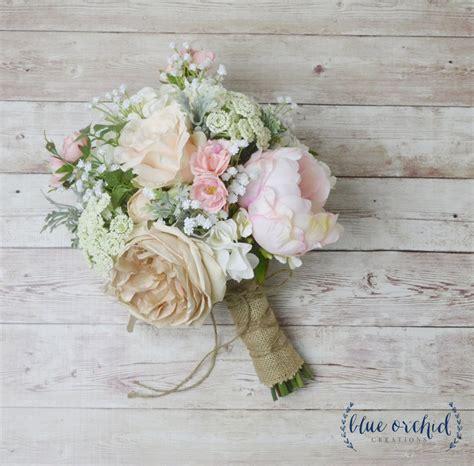 boho bouquet silk flower bouquet wedding bouquet bridal