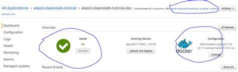 docker beanstalk tutorial deploying a docker container to aws with elastic beanstalk