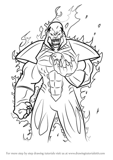 Injustice 2 Coloring Pages by Learn How To Draw Atrocitus From Injustice Gods Among Us