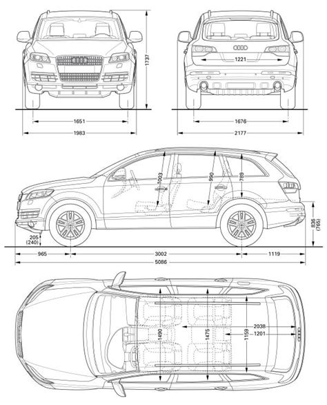 car dimensions in audi q7 luxury crossover suv dimensions car magazine auto reviews at www autopressnews