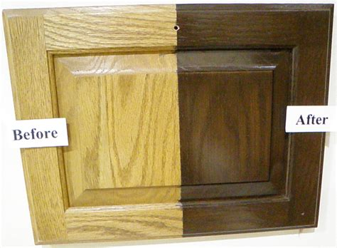 how to restain oak kitchen cabinets how to transform oak cabinets cabinet refinishing