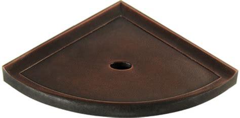 Bronze Corner Shelf by Sandgate Metro Bath Accessories