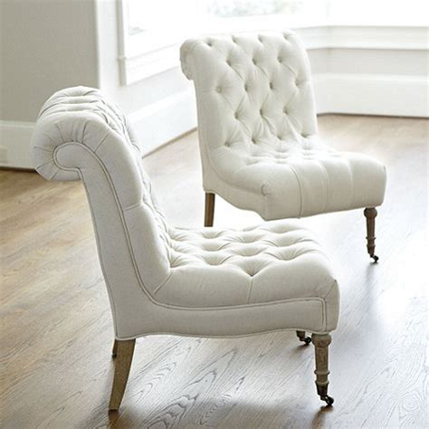 tufted bedroom chair ballard designs cecily armless chair decor look alikes