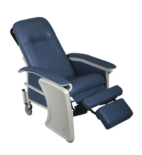 tray for recliner medline comfortez 3 position recliner blueridge no tray