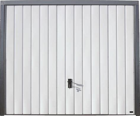 porte basculante porte de garage basculante blanche h200xl240 bricoman