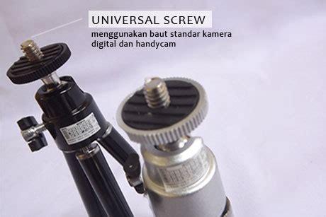 Tripod Untuk Kamera Prosumer tripod mini kamera digital tinggi maksimal 18cm
