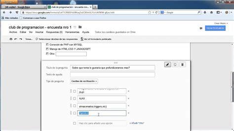 crear imagenes jpg online como crear una encuesta con google drive youtube