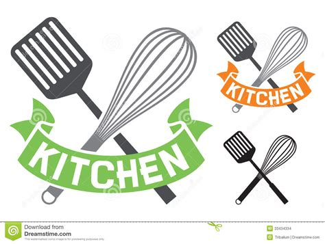 Kitchen Symbol Stock Images   Image: 33434334