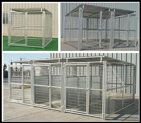 galvanised dog kennel sections galvanized steel cages for dogs fence panels for dogs 5 x9