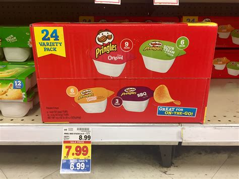 Sale Kaos Mr Pringles pringles variety pack just 5 99 kroger couponing