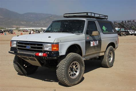 prerunner bronco do it all prerunner aaron barrack s 1991 ford bronco