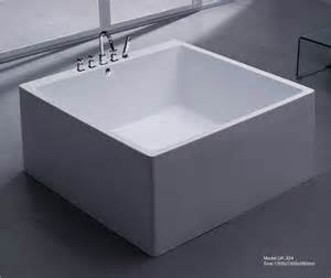 Soaking In Bathtub Square Freestanding Bathtub Id 6985594 Product Details