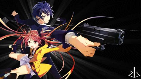 wallpaper black bullet black bullet wallpapers anime hq black bullet pictures