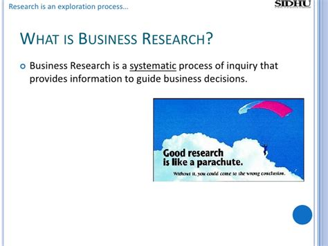 Business Research Methods Notes Mba by The Business Research Method