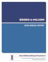 books a million annual report books a million annualreports