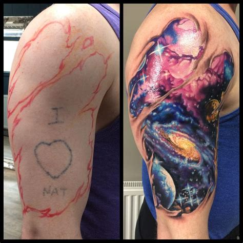 galaxy tattoo sleeve 17 best ideas about cosmos on galaxy
