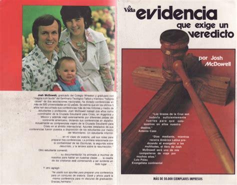 libro exgse des lieux communs josh mcdowell evidencia que exige un veredicto libro completo