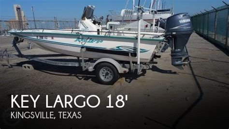 boats for sale in kingsville tx sold key largo bay boat 18 boat in kingsville tx 101843