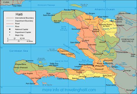 haiti map of cities sws9americas08 haiti