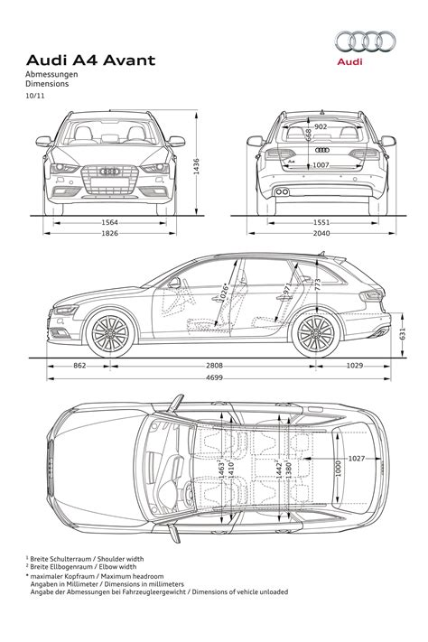 Audi A4 2002 Dimensions by Ausmotive 187 2012 Audi A4 Facelift Photo Gallery