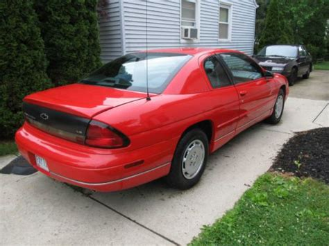 manual cars for sale 1998 chevrolet monte carlo engine control purchase used 1998 chevrolet monte carlo ls coupe 2 door 3 1l in avon lake ohio united states