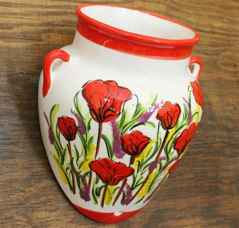 Poppy Planter by Sillans Poppy Lavender Wall Vase Wall Planter