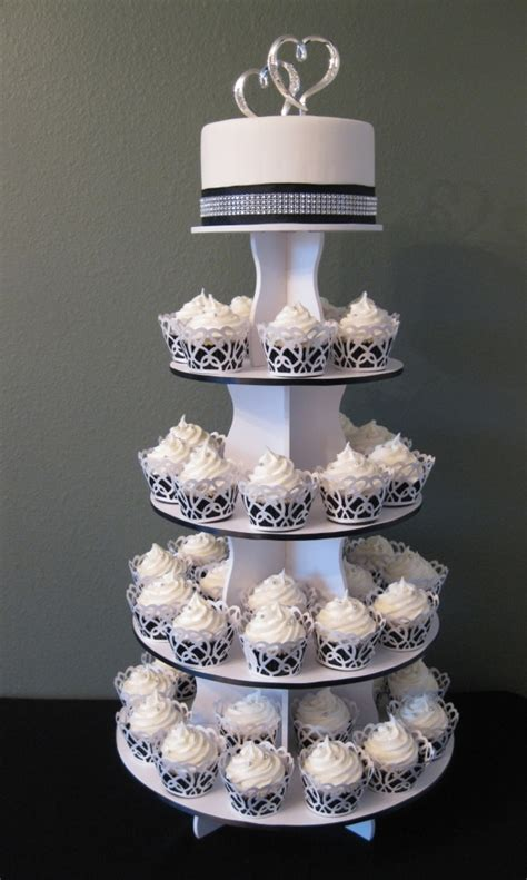 Wedding Cakes With Cupcakes by Cupcake Wedding Cake Cakecentral