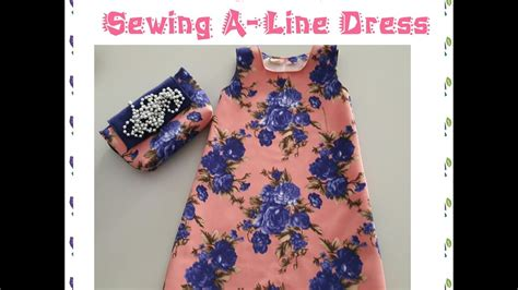 Dress Terusan Anak Simple how to make pattern and sew an easy aline dress with portable sewing machine