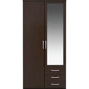 buy collection new hallingford 2 dr 3 drw mirror wardrobe