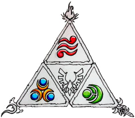 triforce tattoo design 1 2 by bigshotartist on deviantart