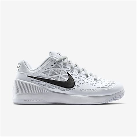 Nike 2016 S Zoom Cage 2 Tennis Shoes Black White 705247 010 nike womens zoom cage 2 tennis shoes white tennisnuts