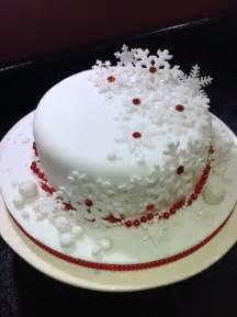 christmas cake original design by emma jayne cake design