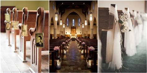 Wedding Aisle Decorations Church by 21 Stunning Church Wedding Aisle Decoration Ideas To