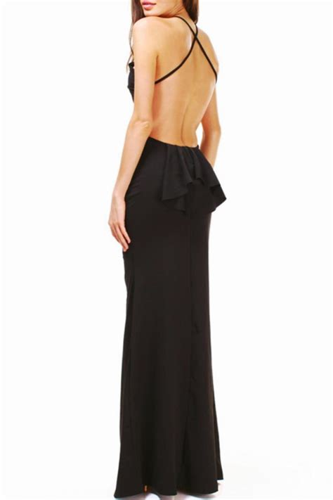 Branded Dress branded black tie formal dress from san diego shoptiques