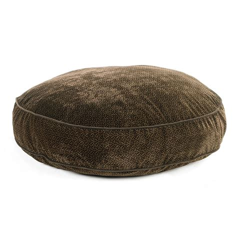 round dog bed bowsers diamond collection supersoft round dog bed