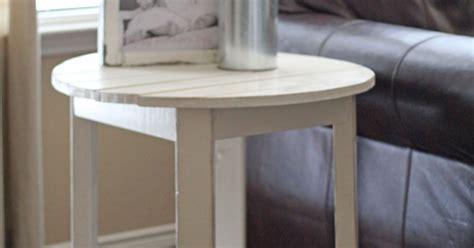 Diy Round Side Table Hometalk
