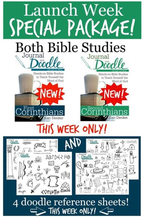 doodle new study journal and doodle through the bible review and giveaway