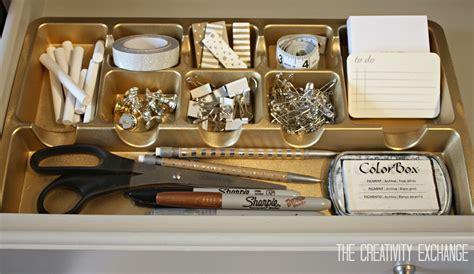 pretty desk organizers spray paint drawer organizers in chic metallics paint it
